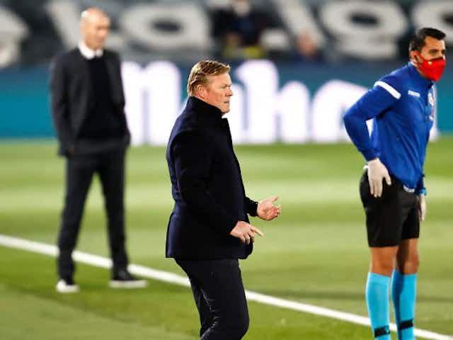 Barça, Real Madrid : Koeman obligé de revoir sa copie à cause de Zidane ?