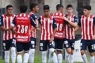 Chivas Sub 18 abre la campaña con goleada al Atlético San Luis