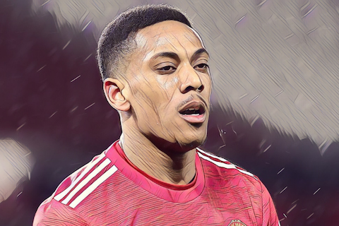 Article image: https://image-service.onefootball.com/crop/face?h=810&image=https%3A%2F%2Fthefootballfaithful.com%2Fwp-content%2Fuploads%2F2021%2F02%2FMartial.png&q=25&w=1080