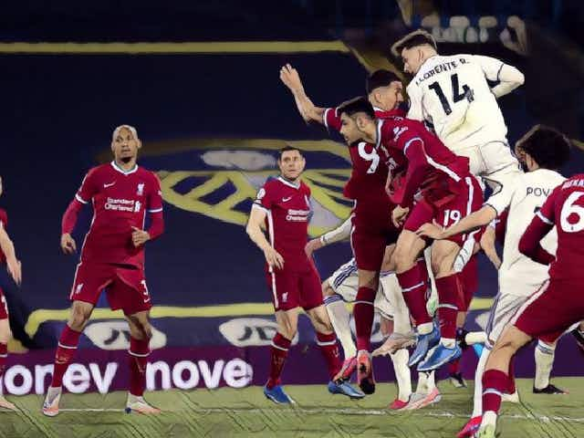 Klopp reacts as Leeds snatch 'deserved' late equaliser before answering more Super League questions