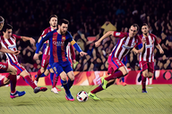 Icon: Lionel Messi's best megs and dribbles