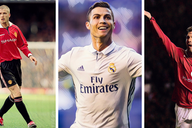 Five of the best players to play for Man United and Real Madrid