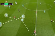 Wide attacks and pressing alterations: How Liverpool fixed their own issues to overcome Man United – tactical analysis