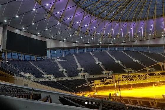 Article image: https://image-service.onefootball.com/resize?fit=max&h=648&image=https%3A%2F%2Ftothelaneandback.com%2Fwp-content%2Fuploads%2F2018%2F11%2FTottenham-stadium-light-1.jpg&q=25&w=1080