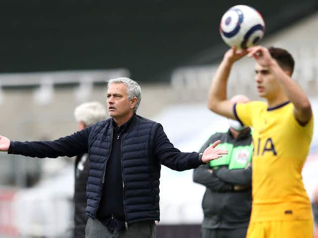 Report: 'Growing belief' within Tottenham that Jose Mourinho will not be at the club next season