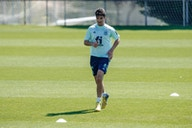 Soler undertakes first session for Spanish national team