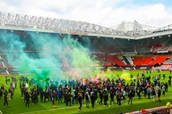 UK government condemns 'reckless' Man United fans for Old Trafford chaos