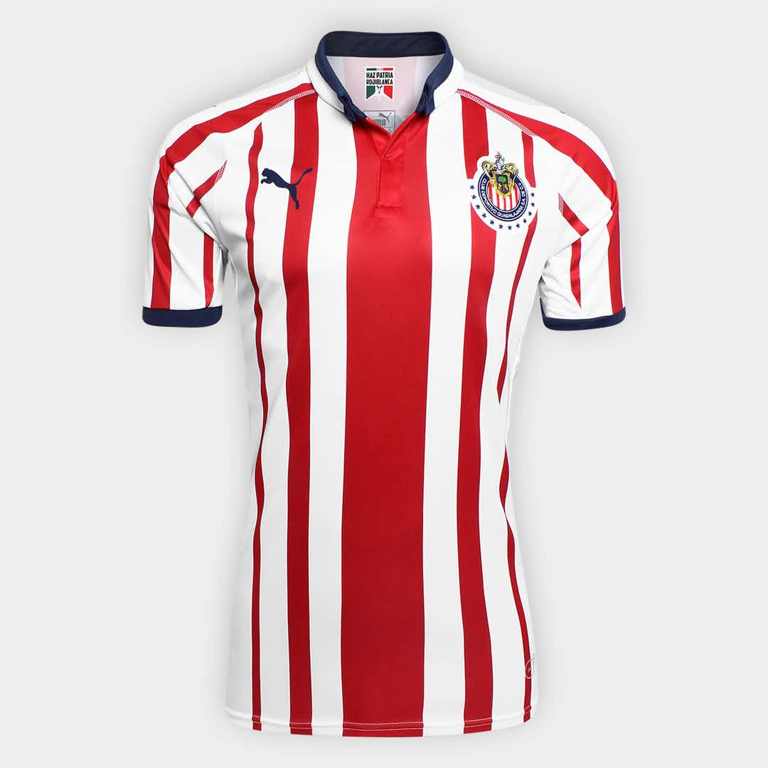 d8d1fd06a 🎥 Chivas reveal unusual 2018-19 home and away kits - Onefootball