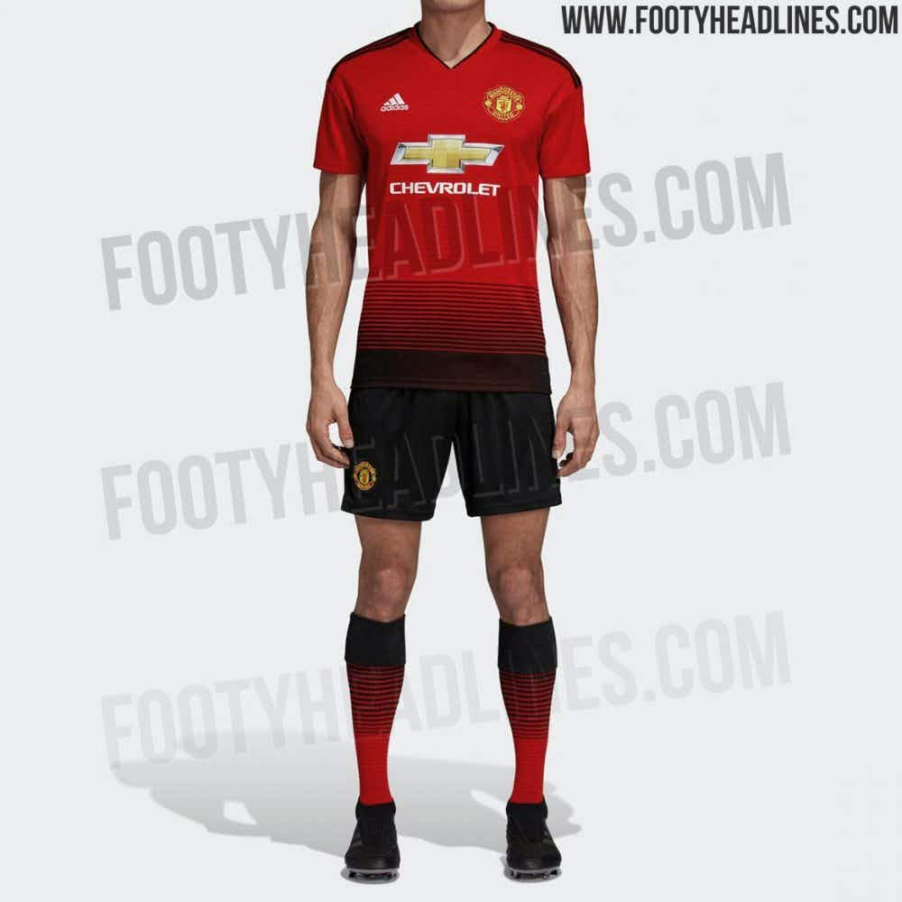 📸 Official images of new Man United kit leaked ahead of release ... 68f8122fd