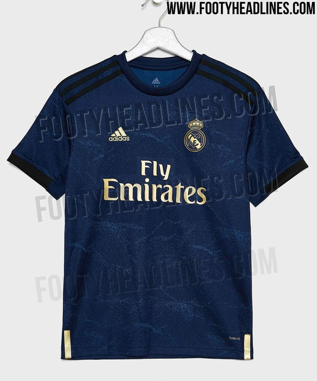 official photos 213bf 33410 📸 Real Madrid to release gold-plated new away jersey ...