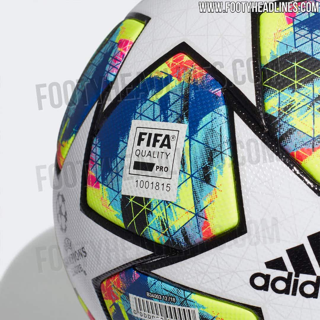 📸 The official 2019/20 Champions League ball is wild