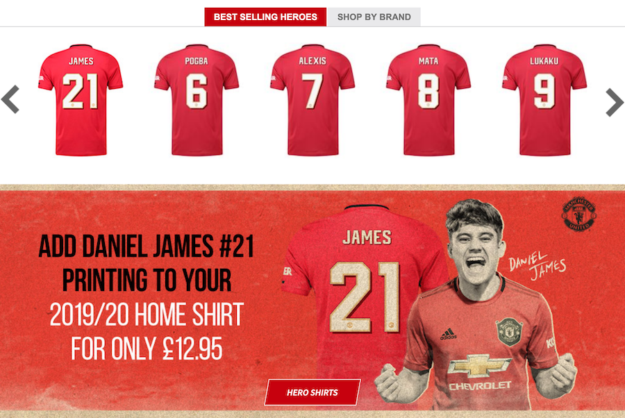 Man Utd Reveal Daniel James Shirt Number Onefootball