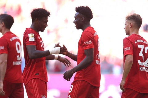 Alphonso Davies thanks David Alaba for 'easy' transition to left-back -  OneFootball