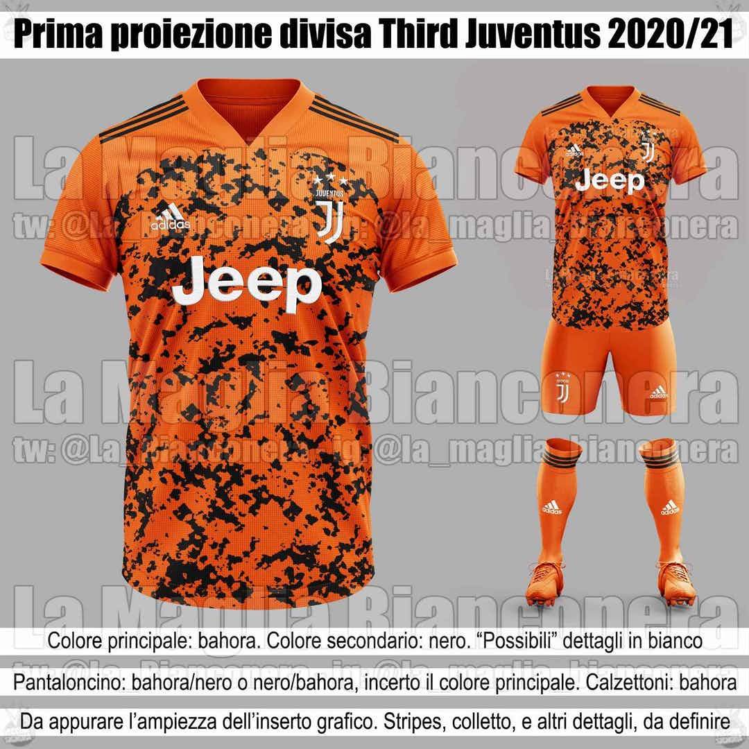 13+ Juventus Third Kit 2020/21