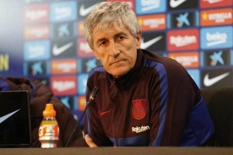 Quique Setién: Barcelona have taken a step forward despite defeat ...