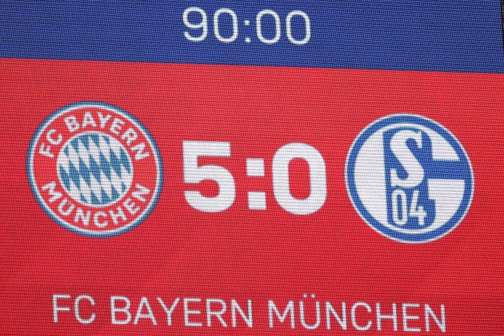 Ergebnis Schalke Bayern