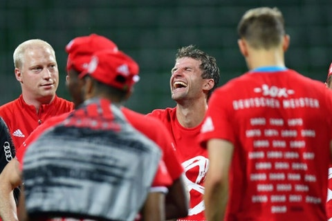 Thomas Muller Reveals Rare Emotion After Winning Bundesliga Onefootball Connect with friends, family and other people you know. thomas muller reveals rare emotion