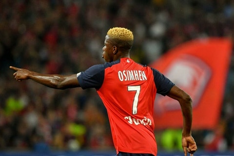 Napoli Sign 80m Victor Osimhen From Lille Onefootball