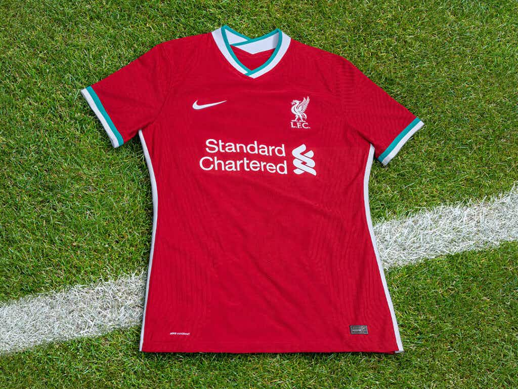 Liverpool Officially Unveil Their Stylish New Home Kit Onefootball