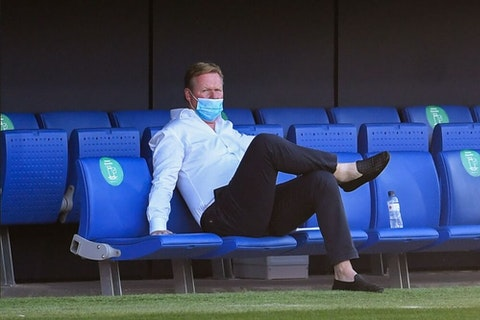 Ronald Koeman Ditches 4 3 3 Formation In First Barcelona Outing Onefootball
