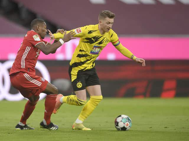 Marco Reus insists Dortmund suffered 'clear foul' in Klassiker defeat