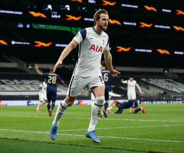 🇪🇺 Kane bags brace for Spurs; Arsenal win well in Greece