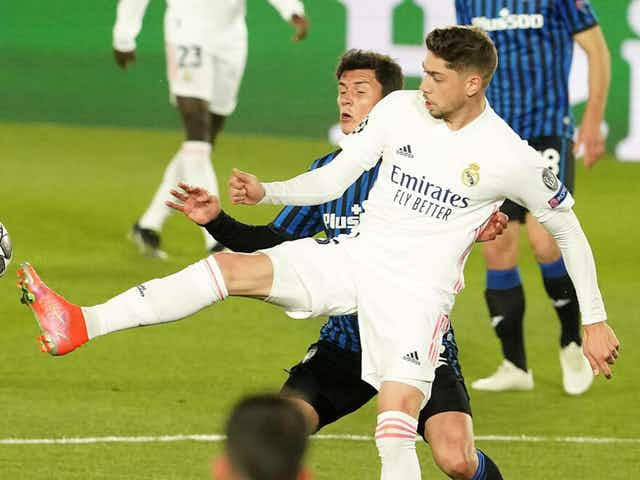 Fede Valverde out of Getafe clash after positive COVID contact