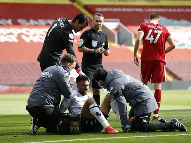Aston Villa confirm Trézéguet to undergo surgery after knee injury