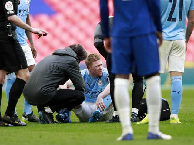 Manchester City release Kevin De Bruyne injury update