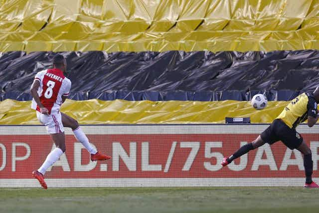 Ryan Gravenberch adds to Ajax joy after downing Vitesse in cup final