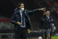 Santiago Solari applauds América after CCL quarter-final triumph