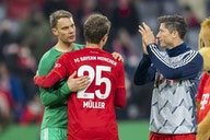 Bayern Munich stars full of emotion after winning Bundesliga title