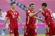 Bayern put SIX past Gladbach to celebrate title win