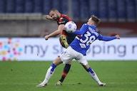 📸 Beim Genua-Derby kommt die Pyrotechnik per Fallschirm ins Stadion