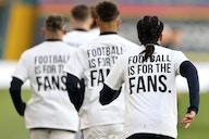 📸 Spiel gegen LFC: Leeds setzt Zeichen gegen Super-League-Pläne