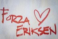 📸 Nach Herzstillstand: Eriksen meldet sich aus dem Krankenhaus