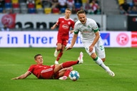 Turbulente Nachspielzeit: Bremen gewinnt Krimi in Düsseldorf