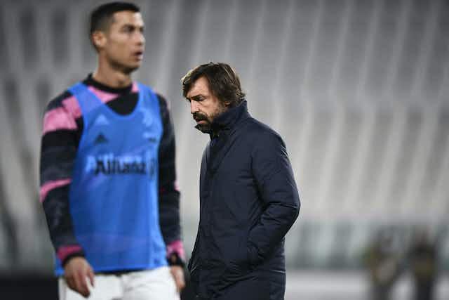Pirlo confirma la lesión de Cristiano Ronaldo