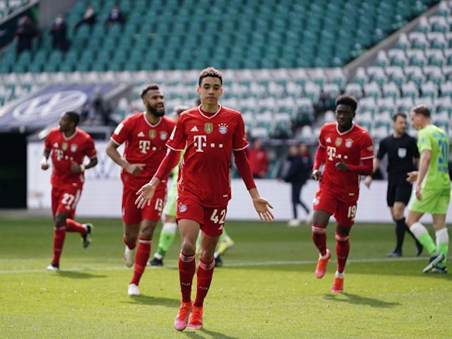 📝 Con un Musiala estelar, Bayern München venció al VfL Wolfsburg