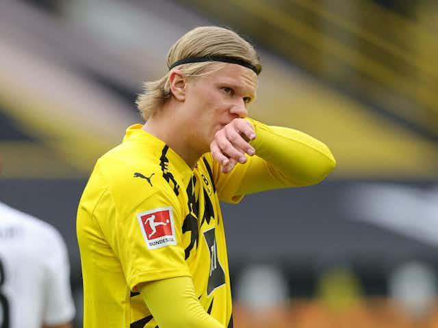 """Lucas Barrios: """"Por lo que sé, Haaland es feliz en Dortmund"""""""