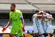 Con goles de Dinenno y Vigón, Pumas se queda con la victoria
