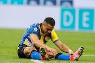 Alexis Sánchez, lesionado, se perdería el debut del Inter en Serie A