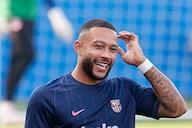 Ya es oficial. Memphis Depay debuta con el Barça