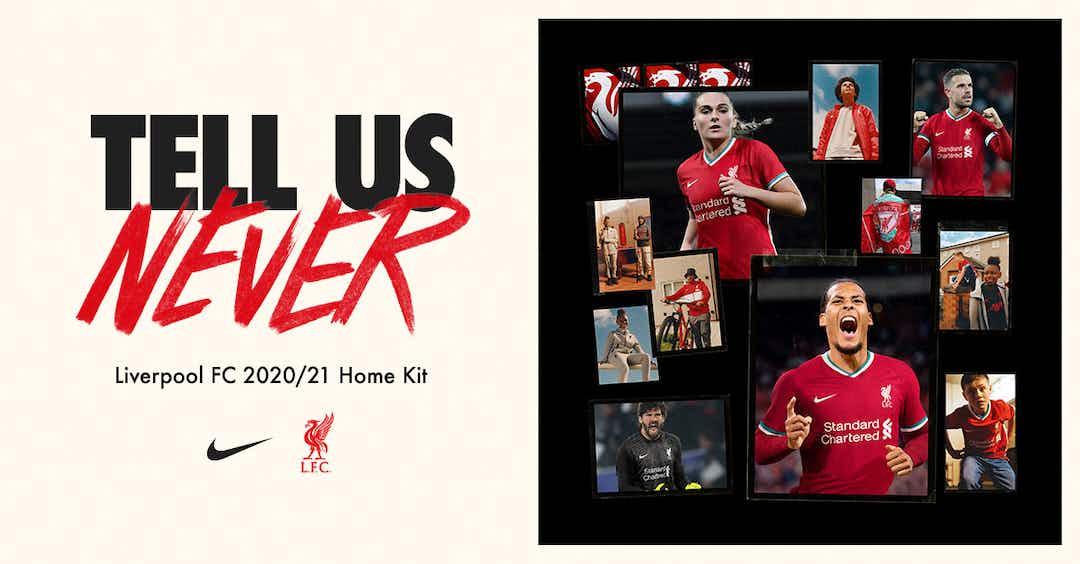 Liverpool Lanca Uniforme Feito Pela Nike Para A Temporada 2020 2021 Onefootball