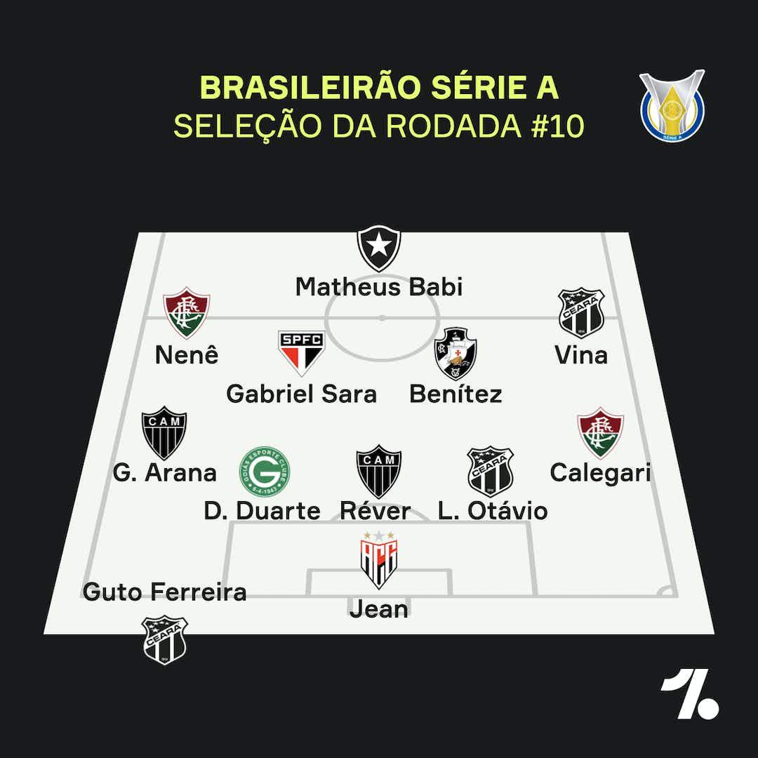 Brasileirao A Selecao Da 10ª Rodada E Babishow E Mais Onefootball