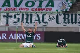 Imagem do artigo: https://image-service.onefootball.com/crop/face?h=810&image=https%3A%2F%2Fwp-images.onefootball.com%2Fwp-content%2Fuploads%2Fsites%2F13%2F2021%2F01%2FPalmeiras-v-River-Plate-Copa-CONMEBOL-Libertadores-2020-1610506808-1000x667.jpg&q=25&w=1080