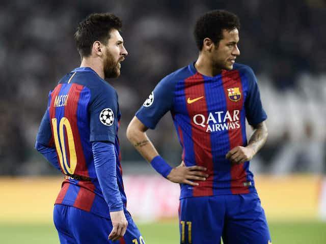"""👀 Messi faz """"pressão quase diária"""" a Neymar por retorno ao Barça"""