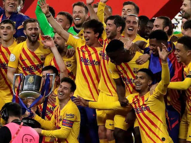 🏆 Messi dá show, Barcelona massacra o Bilbao e fatura a Copa do Rei