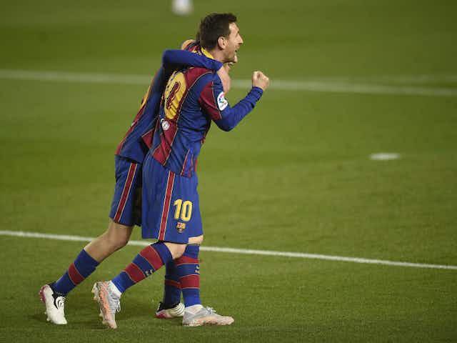 🇪🇸 Messi faz dois, Barça goleia o Getafe e ainda sonha com título
