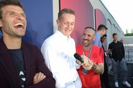 L'échange génial entre Thomas Müller et Franck Ribéry 😂